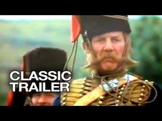 """INTERMEDIATE (Grade A movie trailer for the 1968 film adaptation of the poem, """"The Charge of the Light Brigade. Classic Trailers, Movie Trailers, Trevor Howard, Vanessa Redgrave, Crimean War, Age Of Empires, Military Police, Official Trailer, Warfare"""