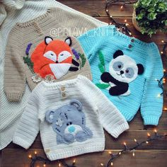 Crochet Sweater Baby Outfit 64 Ideas For 2019 Baby Girl Crochet, Crochet For Boys, Knitting For Kids, Baby Knitting Patterns, Baby Patterns, Crochet Baby Sweaters, Crochet Baby Clothes, Knit Crochet, Sewing Clothes