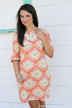 Colette Laurel Dress by Caroline Hulse | Project | Sewing / Dresses | Kollabora #diy #kollabora #sewing #dress
