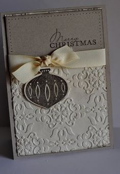 Janeybell: SAS Sneaky Peak/Champagne mist/vintange wallpaper embossing/more merry messages
