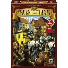 Thurn And Taxis.  Another game our family enjoys.
