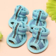 Hot Sale Casual Anti-Slip Small Dog Shoes For Cute Pet Shoes summer Breathable Soft Mesh Sandals Candy Colors 5 Sizes HP08 PETS CARE HUB