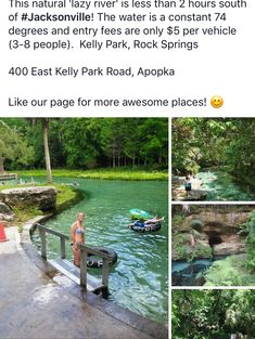 Jacksonville PCS things to do Omg lazy river summer activities winter activities Vacation Places, Vacation Destinations, Dream Vacations, Vacation Spots, Vacation Ideas, Beautiful Places To Travel, Cool Places To Visit, Oh The Places You'll Go, I Want To Travel