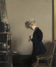 William McGregor Paxton The letter,