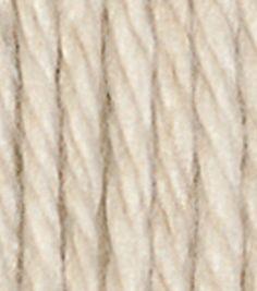 Lily Sugar'n Cream Solids Yarn, Ecru