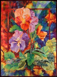 http://NatureQuilts.com - Charlotte Hickman - Quilt Artist