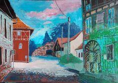 Ausstellungseröffnung am Montag, dem 26.09.16 um 18.30 Uhr in Leimen - Malerei…