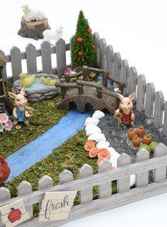 Fairy garden ideas - fairy garden inspiration- A. Indoor Fairy Gardens, Mini Gardens, Garden Inspiration, Garden Ideas, Fairy Crafts, Woodland Fairy, Gnome Garden, Creative Play, Fairy Houses