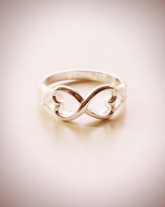 I want the boy of my dreams to give me this ring...the symbol means infinity
