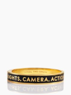 Kate Spade Lights! Camera ! Action! Bangle!