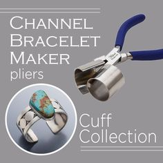 This collection features the Miland® Channel Bracelet Maker pliers, perfect for creating bracelet shapes. Plus, you'll receive five project downloads.