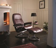 The Ekornes Stressless Consul Is A Classic Recliner Made To Fit Any Home.  Soft Polyester