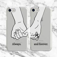 Couples de portable iPhone 7 Plus cas Samsung Galaxy Bff Iphone Cases, Bff Cases, Couples Phone Cases, Couple Cases, Cute Phone Cases, Samsung Cases, Samsung Galaxy, Galaxy S7, Phone Cases
