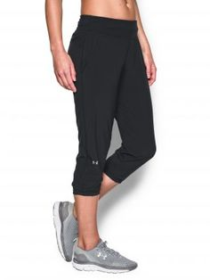 Under Armour Women's UA HeatGear Sunblock 50 Pants, Available at #EssentialApparel