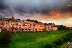 Przemyśl. Polska - Old town in old polish city.