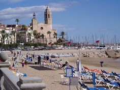 Sitges Spain tons of artists