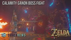 Zelda: Breath of the Wild - How to Beat Calamity Ganon Boss Fight - http://gamesitereviews.com/zelda-breath-of-the-wild-how-to-beat-calamity-ganon-boss-fight/