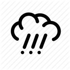 #cloud #clouds #downpour #forecast #rain #sky #weather #icon