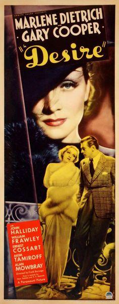 Desire (1936) - US Insert