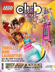 Friends Bricks | Friends in Girls LEGO Club Magazines