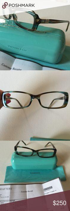 47c4a995d6 Tiffany 8124 eyeglasses frames tortoise blue Beautiful like brand new  Tiffany eyeglass frames