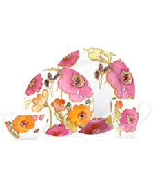 Lenox Dinnerware, Floral Fusion 4 Piece Place Setting