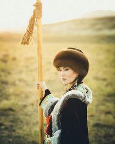 Kazak Türk Kadını