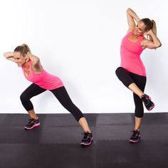 Circuit Workout Routine: Get a Flat Stomach, Tight Butt, and Thin Thighs | Shape Magazine