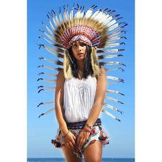 """""""Happy Sunday  Model @__davinaaa__ www.etnikabali.com www.etsy.com/shop/etnikabali #indianheaddress #indian #headdress #boho #bohobabe #festival #edm…"""""""