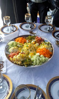 moroccan salad -fresh, photo only Morrocan Food, Moroccan Kitchen, Moroccan Salad, Moroccan Breakfast, Big Salad, Middle Eastern Recipes, Mediterranean Recipes, International Recipes, Love Food