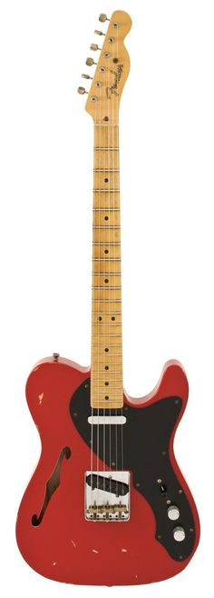 Fender Custom Shop 50s Thinline Telecaster, Dakota Red Relic
