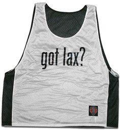 Got Lax? Lacrosse Pinnie