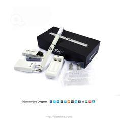 eCab Joyetech Modelo  eCab Condição  Novo  O kit eCab VEM com:   * 1 x ECAB atomizador cone  * 2 xCabeça ECAB atomizador  * 1 x ECAB compartimento da bateria  * 2 x Ecab bateria recarregável  * 2 x Ecab cartucho  * 1 x adaptador de carregador ECAB  * 1 x carregador de bateria USB ECAB  * Manual 1 x ECAB usuário
