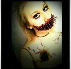 Doll inspired makeup #halloween #makeup #horror