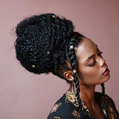 African Hairstyles How To Care For Dreadlocks So They Last Twa Hairstyles, African Hairstyles, Protective Hairstyles, Texturizer On Natural Hair, Natural Curls, Love Your Hair, My Hair, Hair Inspo, Hair Inspiration