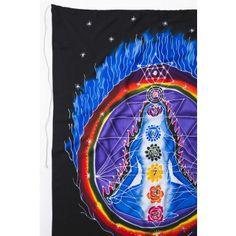 Chakra Medita Fabric Hanging