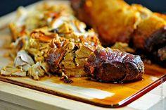Balsamic Pork Tenderloin Recipe | ©addapinch.com