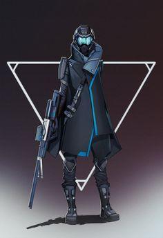 ArtStation - sniper, soundhunter
