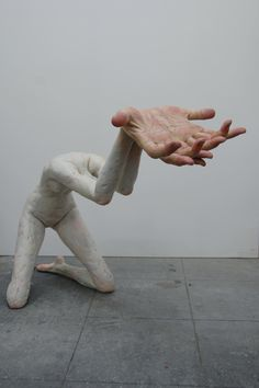 The Islet of Asperger — Albert Benamou Gallery. Talking abt headless begging, this sculpture says it all. #art