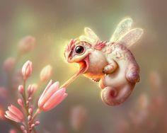 """Snufflewomp"" by Shreya Shetty  Print available at http://www.inprnt.com/gallery/shreyashetty/snufflewomp/?utm_content=buffer4ae15&utm_medium=social&utm_source=pinterest.com&utm_campaign=buffer  #artprint #art #illustration"