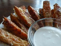 Parmesan Crusted Sweet Potato Fries with Garlic Aioli