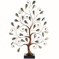 Handcrafted Peacock Tree - Pier1 US