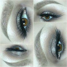Smokey shimmer neutral eye