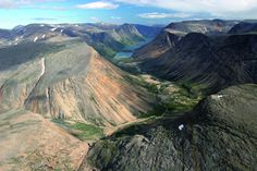 Torngat Mountains National Park of Canada from Global Biodiversity Outlook 3 web site