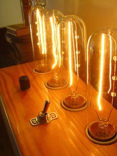 Bengston Woodworks — Tube Lamp