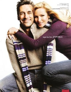 John Hamm & Jennifer Westfeldt (2008 Gap Ad)