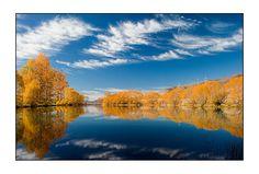 Deep blue Autumn - Twizel, Otago
