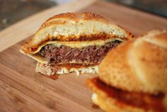 This Epic Ravioli Recipe Contains a Burger Within a Burger #food trendhunter.com