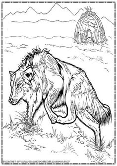 This Time I Want To Share Wolf Adult Coloring Pages In You Can