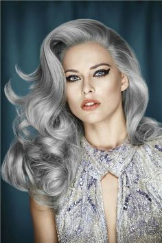 go silver...not grey